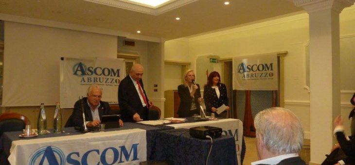Logos Cultura all'Assemblea Ascom Abruzzo