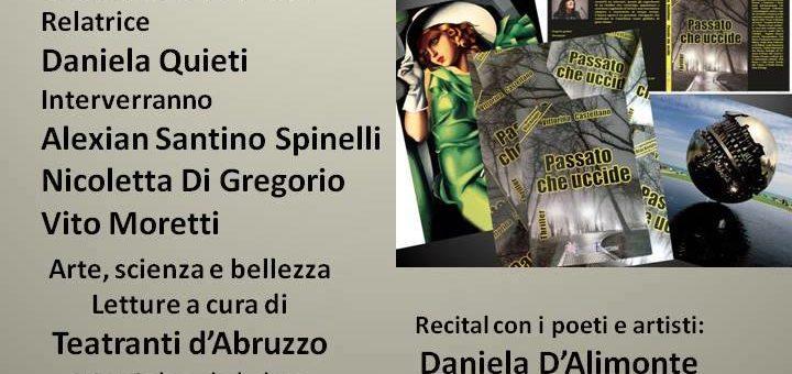 """Chieti: """"Passato che uccide"""" di Vittorina Castellano al Museo Barbella"""