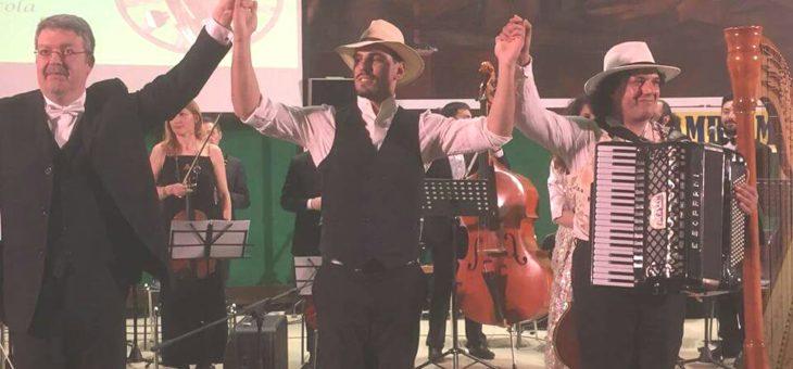 Standing ovation per l'Alexian Group e l'Orchestra Europea per la Pace a La Sapienza
