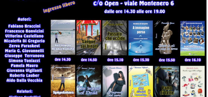 """Pegasus Show Books"" all'Open di Milano"