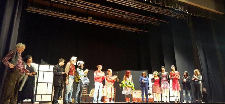 """Grande successo per """"La rote ggire"""" al Teatro Circus di Pescara"""