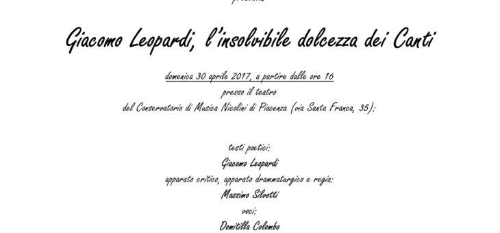 Giacomo Leopardi, l'insolvibile dolcezza dei Canti
