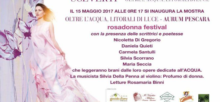 """Aspettando il rosadonna festival: """"Oltre l'Acqua, Litorali di Luce"""" di Timoteo Sceverti all'Aurum di Pescara"""