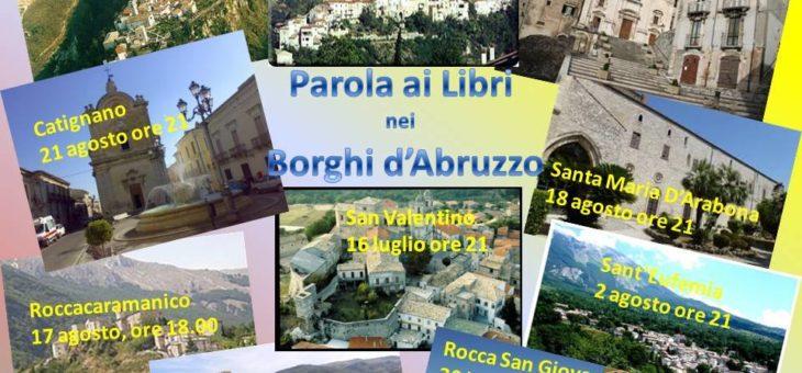 Parola ai Libri nei Borghi d'Abruzzo
