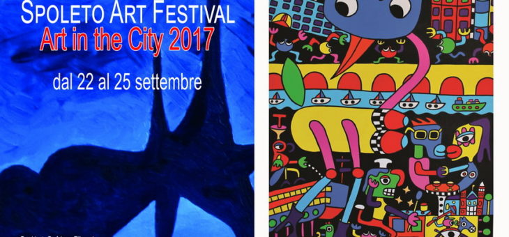 Spoleto Art Festival, cinquemila opere d'arte contemporanea in 50 location