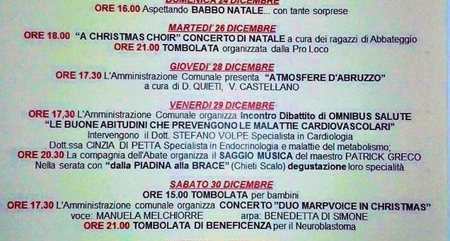 """Abbateggio: """"Atmosfere d'Abruzzo"""" con Daniela Quieti e Vittorina Castellano"""
