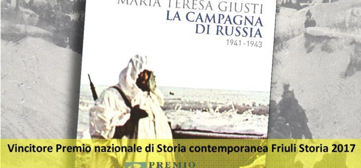 """Pescara, Sala Figlia di Iorio: """"La campagna di Russia 1941-1943"""" di Maria Teresa Giusti"""