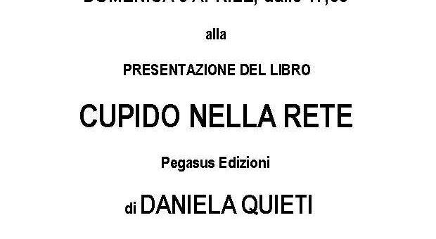 """Firenze: """"Cupido nella rete"""" di Daniela Quieti alle Giubbe Rosse"""