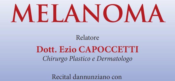 """Conferenza sulla """"Prevenzione del Melanoma"""" all'Hotel Esplanade di Pescara"""