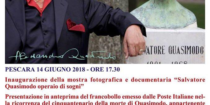 """""""SALVATORE QUASIMODO OPERAIO DI SOGNI"""" AL MEDIAMUSEUM DI PESCARA"""