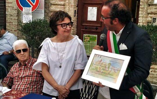 """A Donatella Di Pietrantonio la Targa del Premio """"Raffaele Pellicciotta"""" a Perano"""