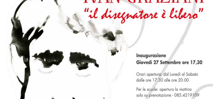 Mostra di Ivan Graziani alla Fondazione Pescarabruzzo