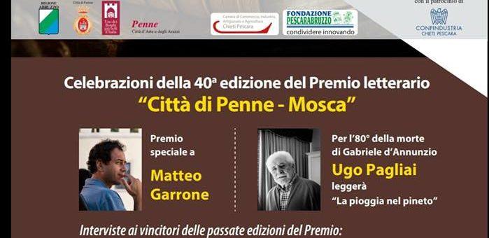 Premio Penne-Mosca 2018 presso Palazzo Firenze a Roma