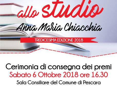 """Croce Rossa di Pescara: Premio """"Incentivo allo studio"""" 2018"""