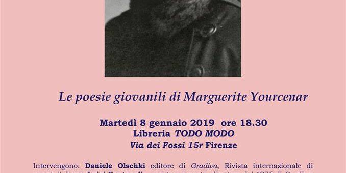 Le poesie giovanili di Marguerite Yourcenar a Firenze