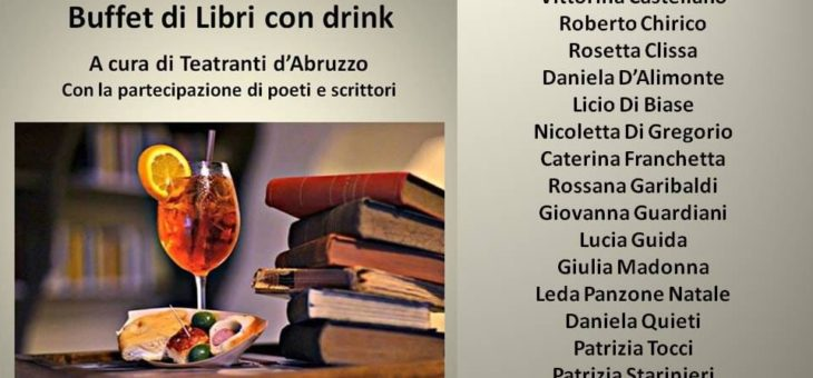 Buffet di libri con drink all'Aurum