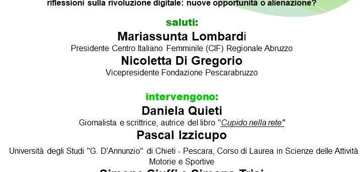 Giovani generazioni nella rete. A Pescara incontro-dibattito sul tema