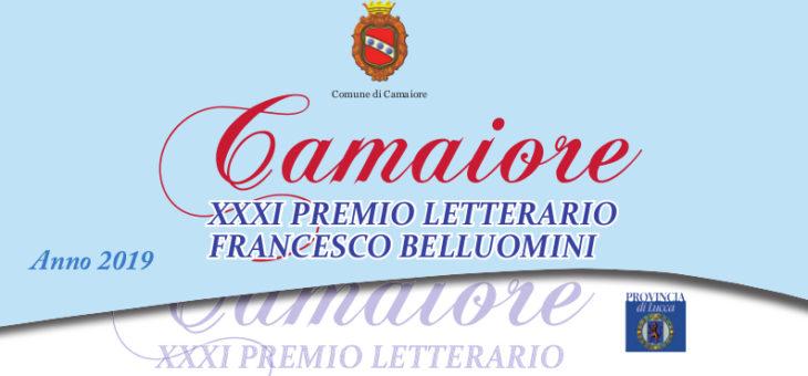 XXXI Premio Letterario Camaiore – Francesco Belluomini – Prima rosa dei libri e degli autori scelti tra oltre 160 in concorso