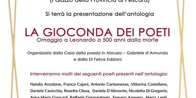 LA GIOCONDA DEI POETI: Omaggio a Leonardo a 500 anni dalla morte