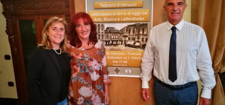"""Al via """"Abruzzesi di ieri e di oggi tra Arte, Musica e Letteratura"""""""