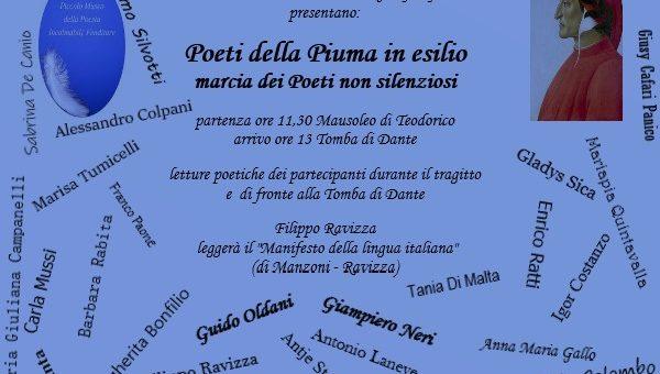 Marcia dei Poeti della Piuma a Ravenna