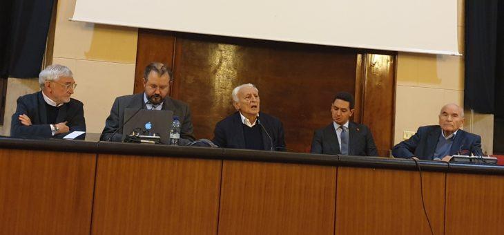Giuseppe Vacca ospite dell'Associazione Alumni del Liceo D'Annunzio a Pescara