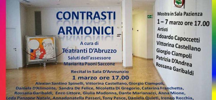 """""""Contrasti Armonici"""" all'Aurum di Pescara"""