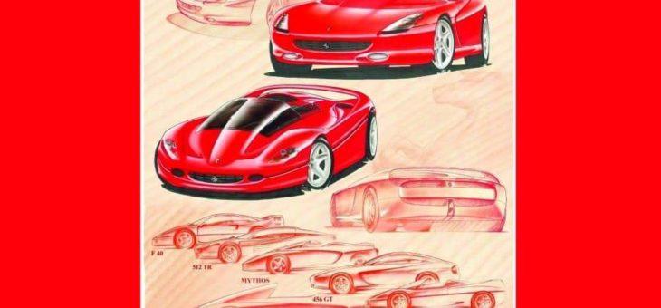 """Copertina de """"LA FIERA LETTERARIA"""" firmata dal designer Pietro Camardella (Ferrari)"""