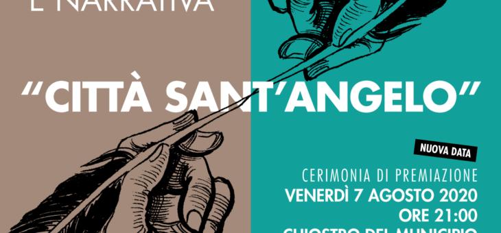Cerimonia conclusiva del Premio Letterario Nazionale di Poesia e Narrativa Città Sant'Angelo