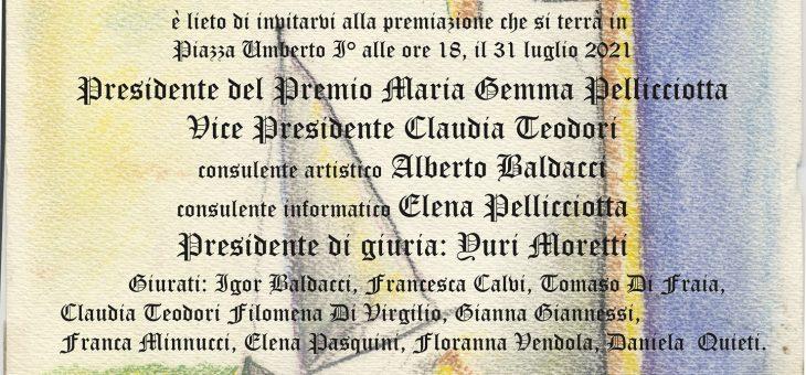 """Premio Letterario Nazionale """"Raffaele Pellicciotta"""" a Perano"""