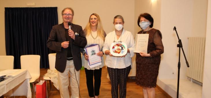 Cerimonia conclusiva del Premio Eccellenze Italiche di Casa Ovidio a Sulmona