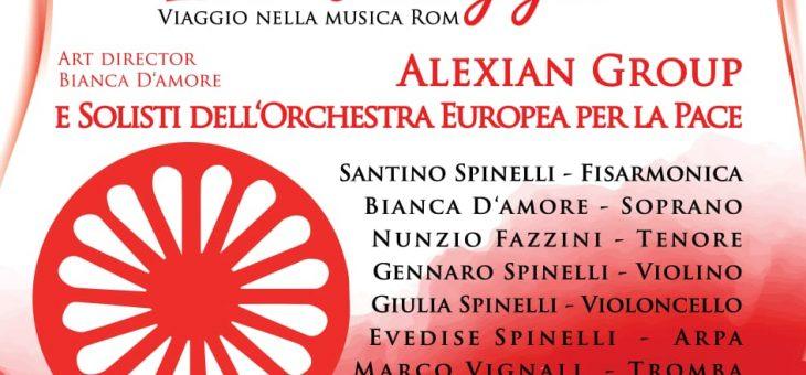 """Alexian Group in concerto, musica e parole del mondo rom. Presentazione del nuovo libro """"Le verità negate"""""""