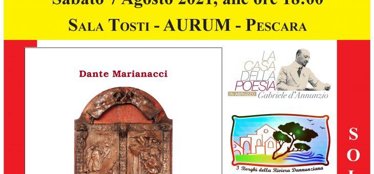 In viaggio con Dante e con la Commedia il 7 agosto all'Aurum di Pescara